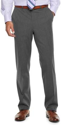 Chaps Men's Performance Series Classic-Fit 4-Way Stretch Linen Suit Pants