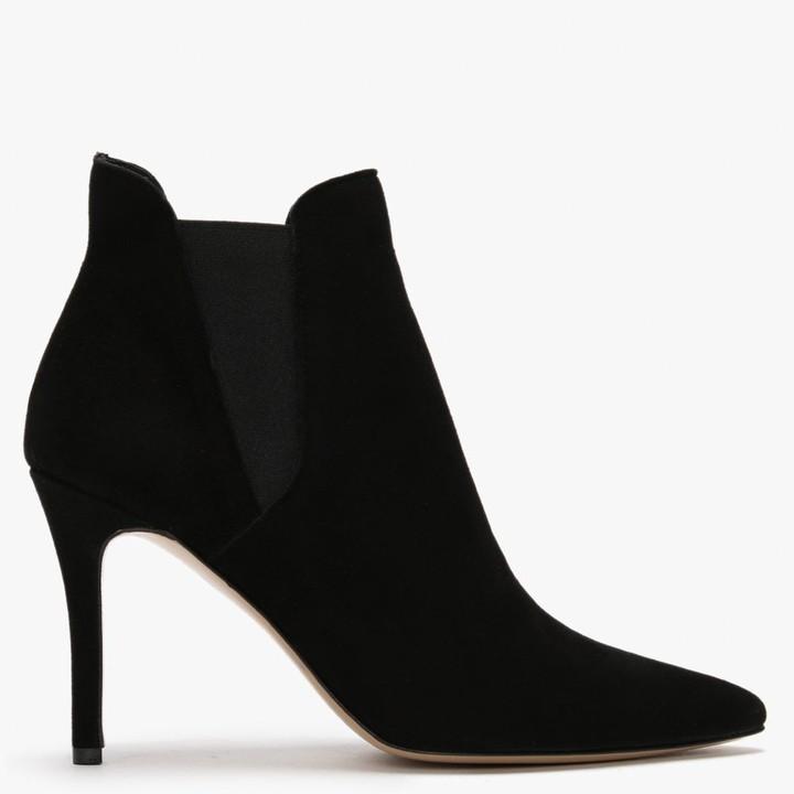 Daniel Adril Black Suede Ankle Boots