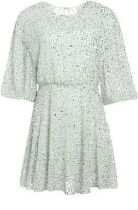 Alice + Olivia Palmira Embellished Mini Dress