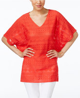 Alfani Lace Poncho Top, Only at Macy's