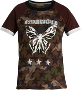 Valentino Butterfly-print cotton T-shirt