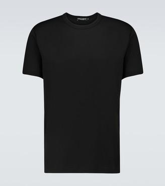 Dolce & Gabbana Short-sleeved cotton T-shirt
