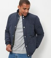 New Look Navy Quilted Jacket