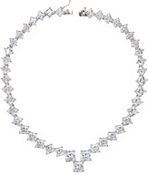 Kenneth Jay Lane Golconda By Graduated Princess-Cut Cubic Zirconia Necklace