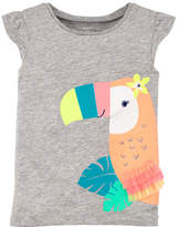 Carter's Toucan Short Sleeve Tee - Toddler Girls 2T-5T