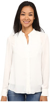 Sam Edelman Pleated Bib Blouse