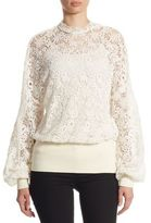 Burberry Lantana Lace Blouse