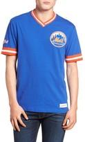 Mitchell & Ness Men's New York Mets - Vintage V-Neck T-Shirt