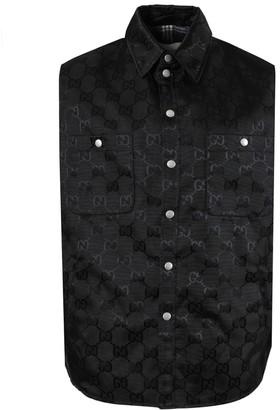 Gucci Gg Black Canvas Nylon Vest