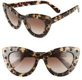 Kate Spade 'luanns' 50mm Cat Eye Sunglasses