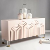 "Everly Ardel 64"" Wide Sideboard Quinn Color: Light Pink"