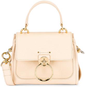 Chloé Mini Tess Day Bag in Sweet Beige | FWRD