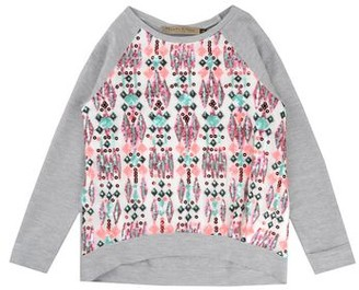 Manila Grace DENIM Sweatshirt