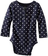 Osh Kosh Knit Bodysuit (Baby) - Blue-9 Months