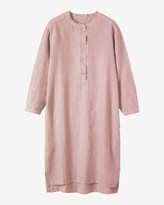 Toast Linen Long Lounge Shirt