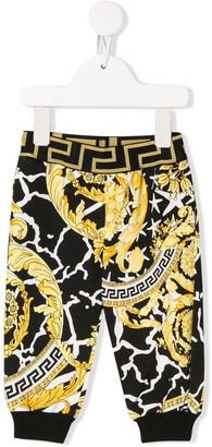 Versace Baroque Print Trousers
