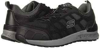Skechers Bulklin - Lyndale Composite Toe (Black/Grey) Women's Shoes