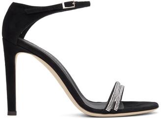 Giuseppe Zanotti Black Kanda Heeled Sandals