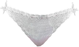 Crokini Swim Jia Bikini Bottom In White
