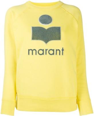 Etoile Isabel Marant Moby logo-patch sweatshirt