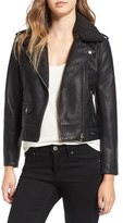 Obey Women's 'Billie' Faux Leather Moto Jacket