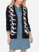 The Limited Horse Intarsia Cardigan