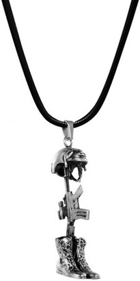Keepsake Anavia Memorial Jewelry Military Soldier Helmet Cremation Necklace Jewelry Urn Necklace Ashes With Free Gift Box