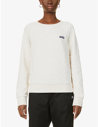 Patagonia Quilted organic cotton and recycled polyester-blend sweatshirt