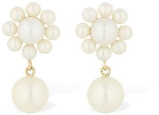Sophie Bille Brahe Margherita Pearl Earrings