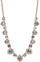 Marchesa Crystal Accented Floral Necklace