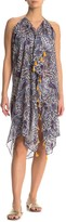 Pool' Pool To Party Printed Tassel Trim Cover Up Dress