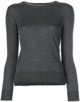 Eleventy side-slit jumper - women - Silk/Merino - XS