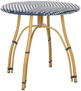 One Kings Lane Lillie Bistro Table - Navy/White