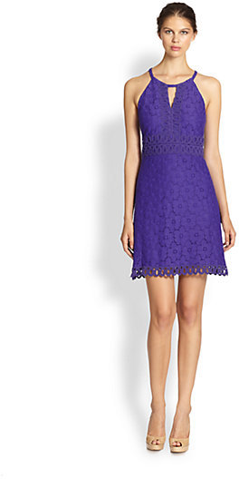 Laundry by Shelli Segal Keyhole Lace Dress
