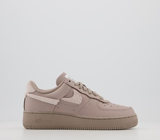 Nike Force 1 07 Trainers Malt Platinum Violet Lxx