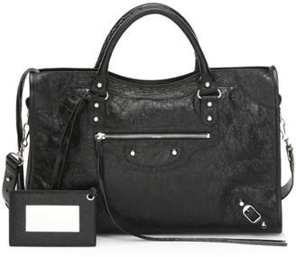Balenciaga Medium Classic City Leather Satchel