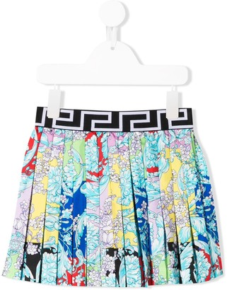 Versace logo band skirt