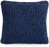 "Tommy Hilfiger Bar Harbor Navy 20"" Square Decorative Pillow Bedding"