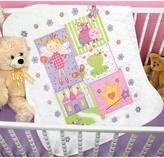 """Dimensions Baby Hugs Quilt Stamped Cross Stitch Kit - 43"""" x 34"""" Fairy"""