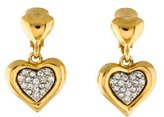 Givenchy Heart Drop Earrings