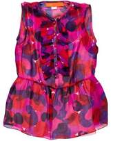 Cynthia Steffe Silk Printed top