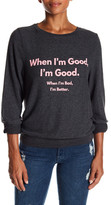 Wildfox Couture When I'm Good Knit Sweater