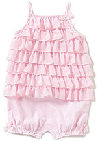 Starting Out Baby Girls 12-24 Months Chiffon Tiered Ruffle Shortall