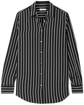 Equipment Essential Striped Washed-silk Shirt