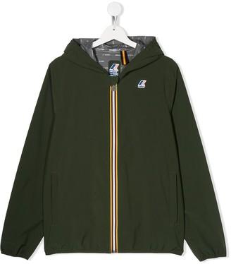 K Way Kids TEEN Jourdain hooded jacket
