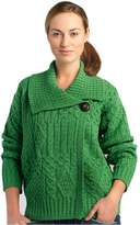 Carraigdonn Carraig Donn Irish Wool Sweater for Women, 100% Pure New Wool, Made in Ireland