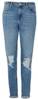 """Topshop TALL 36"""" Mid Stone Wash Lucas Jeans"""