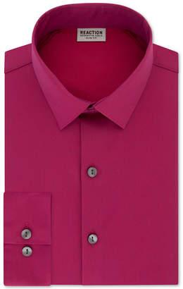 Kenneth Cole Reaction Men Slim-Fit All Day Flex Solid Dress Shirt