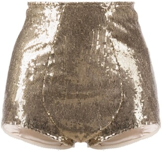 Dolce & Gabbana Sequined Briefs