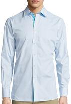 Asstd National Brand International Report Long-Sleeve Woven Button-Front Shirt